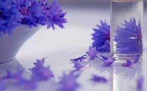 Relaxing lavender massage oil