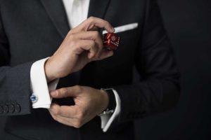 Hombre de negocios lujo