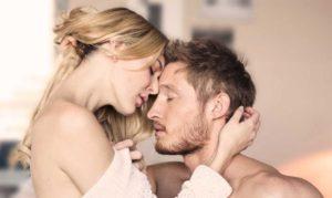 Male reaching an orgasm