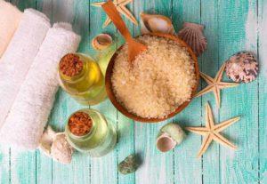 Aceites de masaje y sales marinas