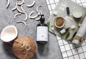 Coconut oil for massages