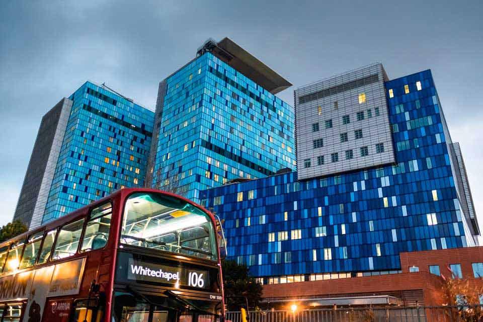 Hospital de Londres en Whitechapel