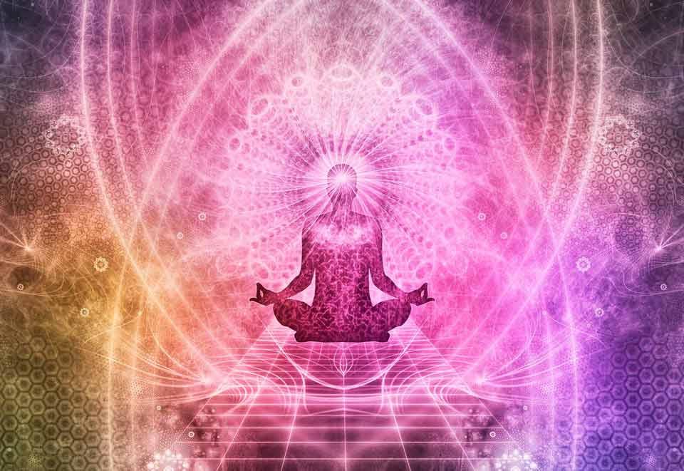 Chakras que se activan durante la meditación