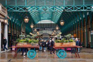 London typical market