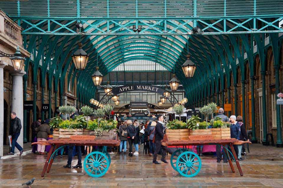 Mercado en Londres