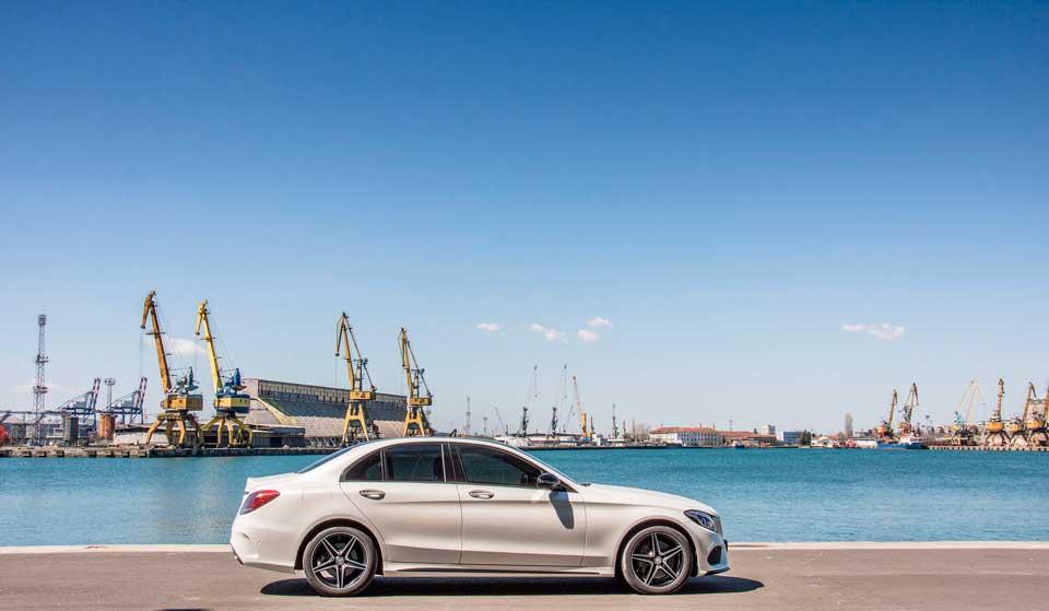 Mercedes benz coche de lujo 2018
