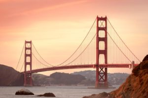 Travel in couple to San Francisco