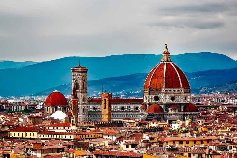 Viajar en pareja a Florencia