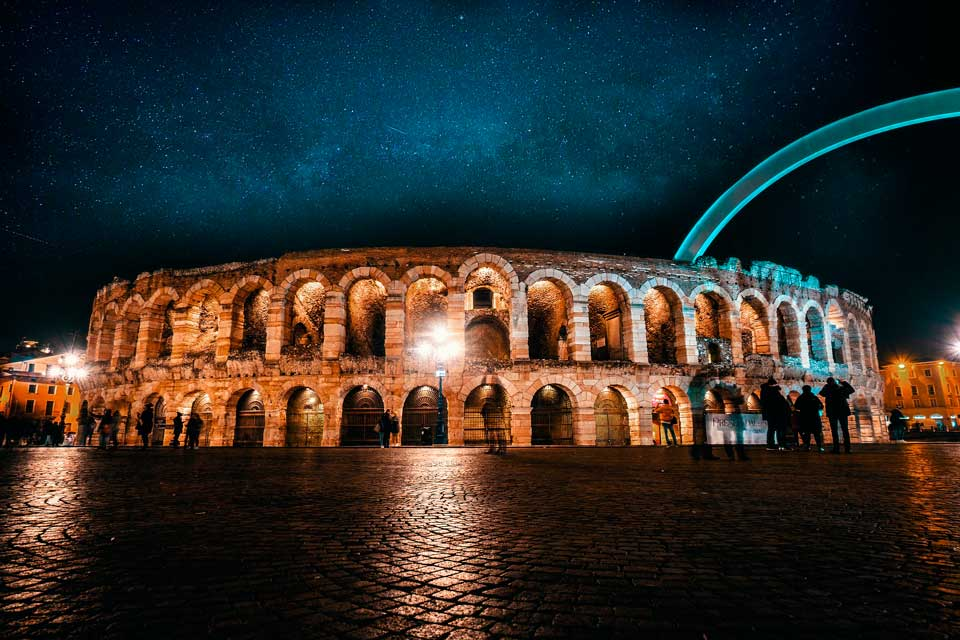 Viajar en pareja a Verona