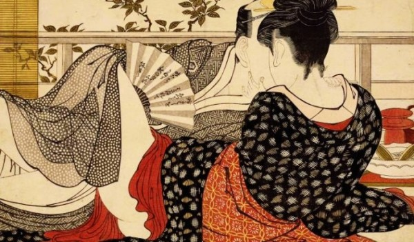 ilustración geisha