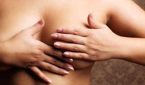 auto masaje de senos