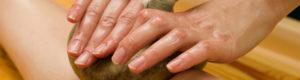 hands oriental massage