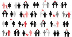 ilustración tipos de sexualidad