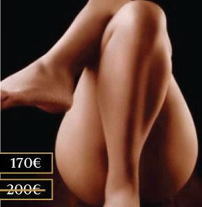 Descuento en nuestra gamma de masajes naturistas Luxor Madrid